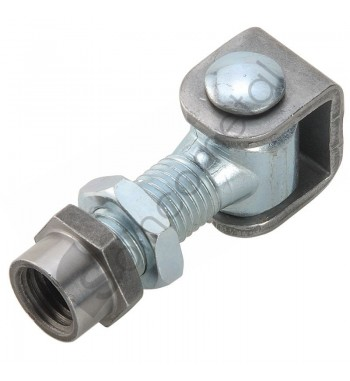 Dobradiça ajust aço p/soldar