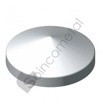 Topos p/tubo redondo zincado