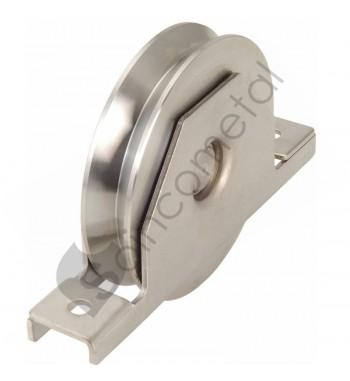 Roda c/suporte p/sold - V