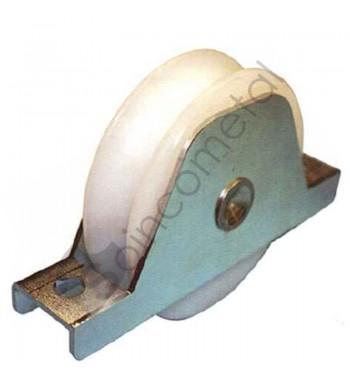 Roda de ny c/sup em aço inox
