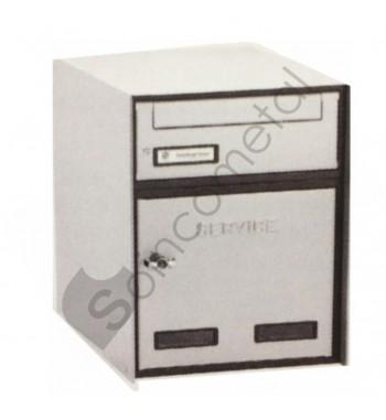Caixa Correio Alumínio +...